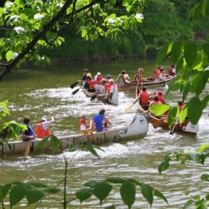 Voyageur Canoe Races