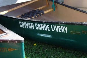 Cowan Canoe and Kayak Paisley On