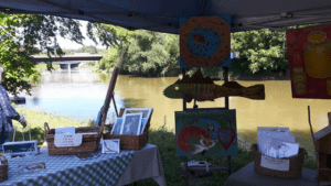 Artists on the River @ Water St. Paisley Ontario